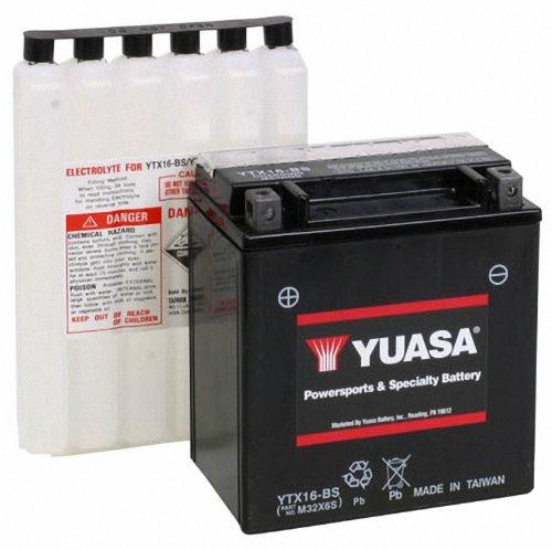 Yuasa YUAM32X6S YTX16-BS Battery