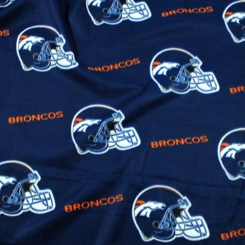 Denver Broncos NFL Fleece Throw Blanket by Northwest - Broncos Fleece Blanket