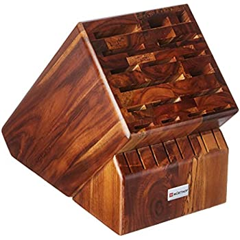Amazon.com: Bamboo Wood Knife Block without Knives ...