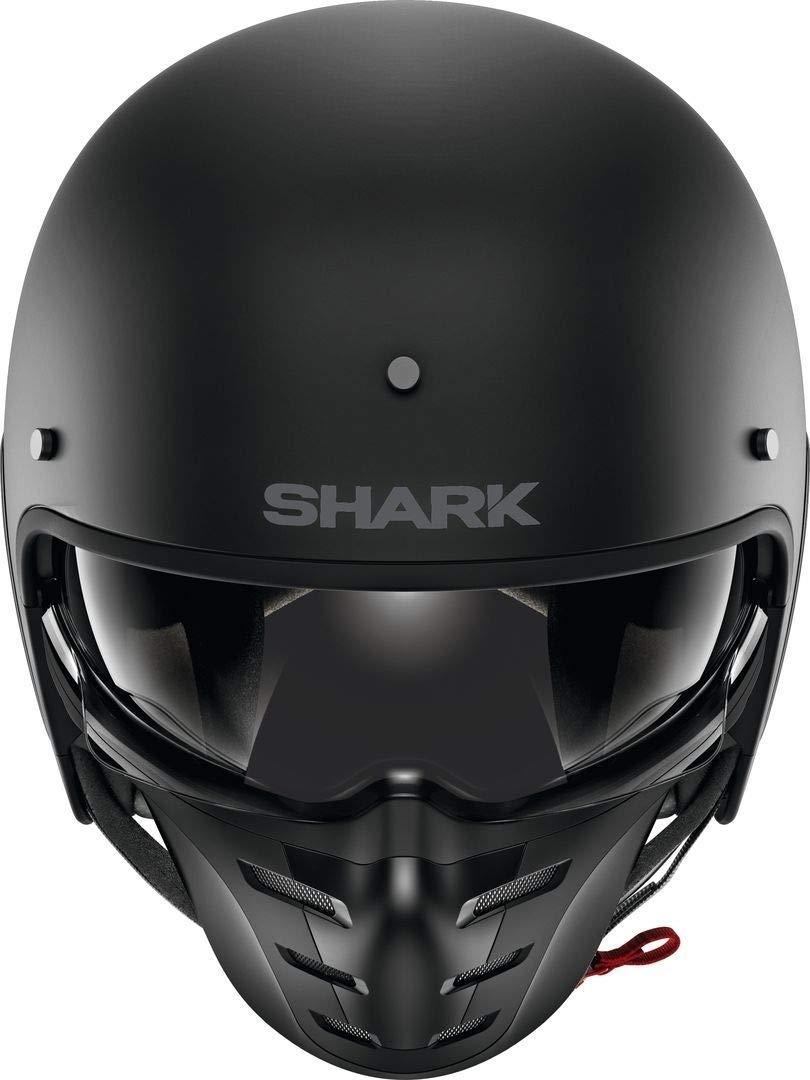 Shark Casco Jet s-drak Blank negro mate KMA talla M