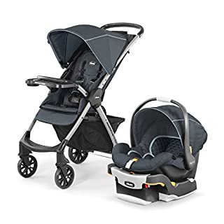 Chicco Mini Bravo Plus Travel System, Midnight