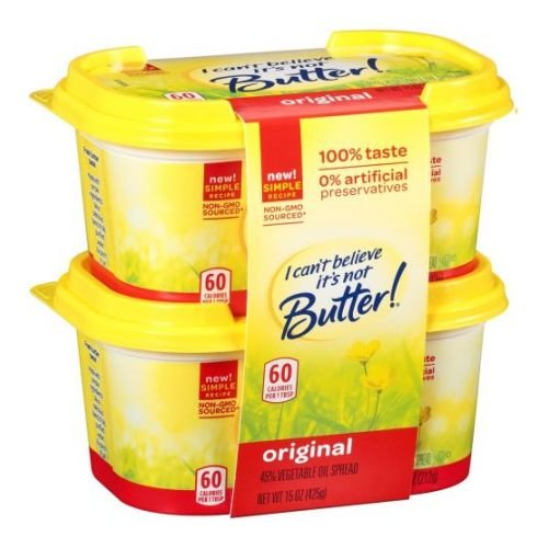 I Cant Believe Its Not Butter Original Yellow Spread, 15 Oun