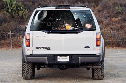 DEATH STAR Car Rear Window Graphic Decal Sticker Truck SU...