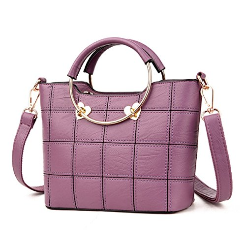 Messenger Bag Della Borsa Della Spalla Delle Donne Purple