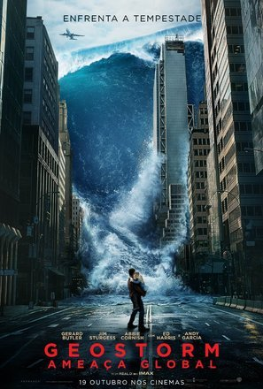 Import Posters Geostorm Gerard Butler Portuguese Movie