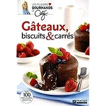 Gâteaux, biscuits et carrés