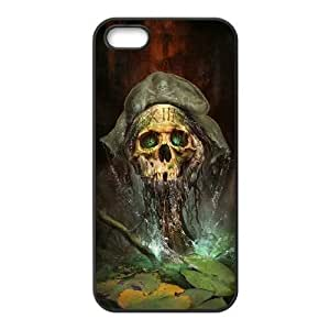 iPhone 4 4s phone case Black gears of war skull AADE3522372