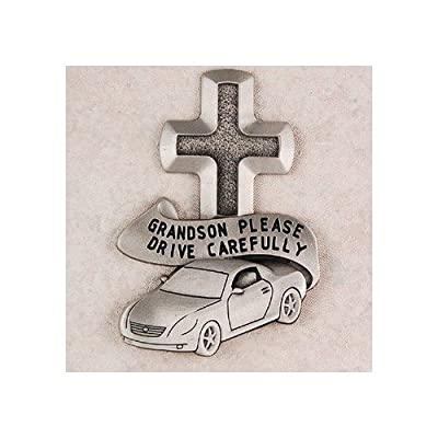 McVan Pewter Grandson Visor Clip: Automotive
