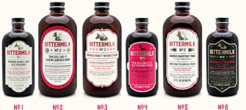 (Bittermilk Cocktail Mixer Variety Pack - Six Bottles Includes Bittermilk No.1 No.2 No.3 No.4 No.5 No.6)