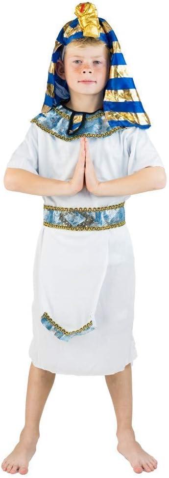 age 8-10 Bodysocks Kids Egyptian Pharaoh Costume
