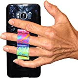 LAZY-HANDS 2-Loop Phone Grip - FITS MOST - Oil Paints