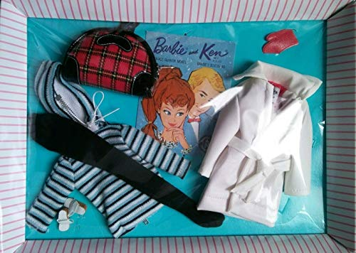 Barbie Teen Age Fashion Set and Ken Retro Winter Reproduction Fashion Pack