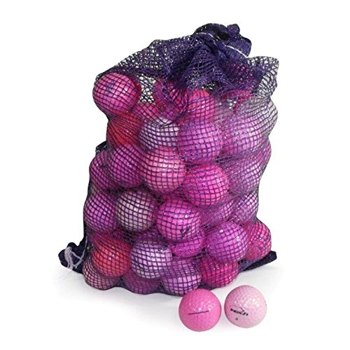 Nitro Pink Assorted B Grade Condition Recycled Golf Ball (72 Pack)
