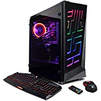 CYBERPOWERPC Gamer Supreme Liquid Cool SLC10000 Gaming PC (AMD Ryzen Threadripper 1920X 3.5GHz, NVIDIA GeForce GTX 1070 8GB, 16GB RAM, 120GB SSD, 1TB HDD, WiFi, Win10)Blk