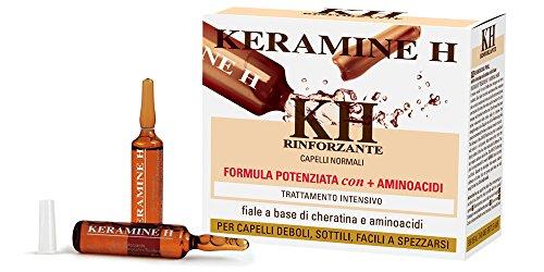 Keramine H - Fiala Rinforzante per capelli Bianca - 10 monodose  Amazon.it   Bellezza e332743b00b0