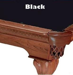 8u0027 Black ProLine Classic 303 Billiard Pool Table Cloth Felt