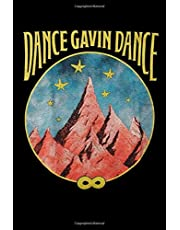 Dance Gavin Dance Mountain Stars Graphic Design: Dance Gavin Dance Daily Planner Lined Notebook / Journal / Diary Gift, 120 blank pages, 6x9, Matte Finish Cover