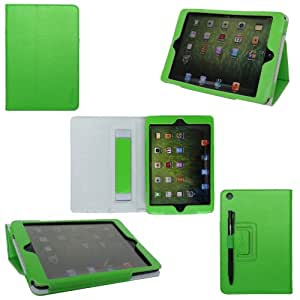 ProCase iPad mini Case - Flip Stand Leather Cover Case for Apple iPad mini 7.9-Inch Tablet auto sleep /wake feature (Green)