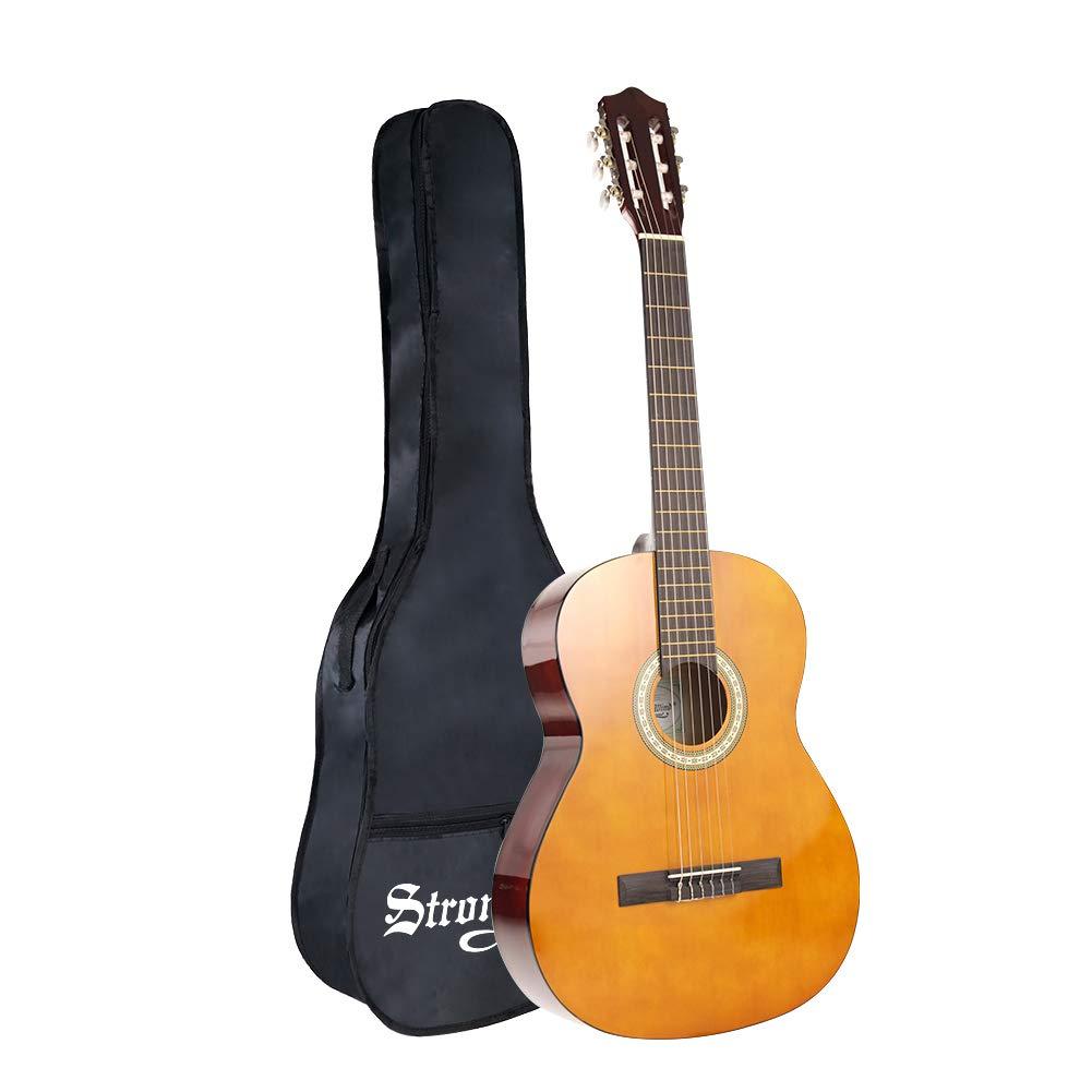 Strong Wind Guitarra clásica acústica 4/4 tamaño completo,con funda product image