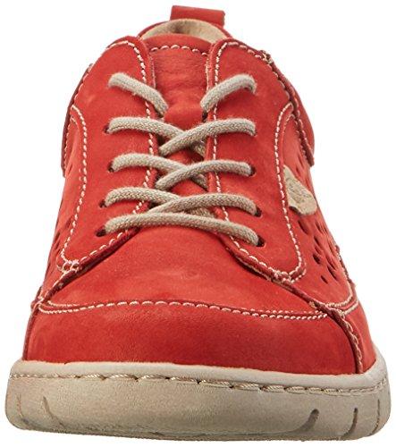 Derby 751400 23 Rouge Josef Seibel Femme rot Steffi Chaussures wYIw81Tq