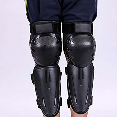 Webetop Kids Dirt Bike Knee And Elbow Pads Shin Guards Youths Protective Gear Set 4pc (Black): Automotive