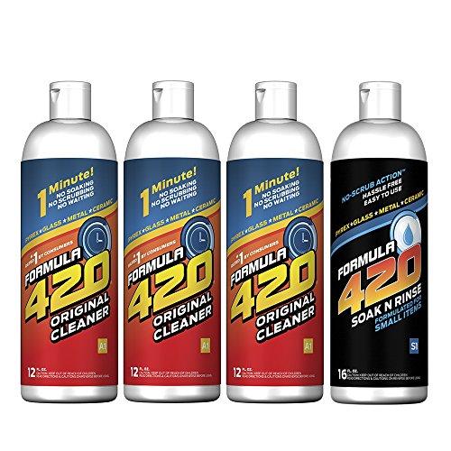Formula 420 Perfect Pair : Glass Metal Ceramic Pipe Cleaner 12 Oz. 3 Pack U0026