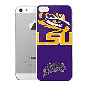 Light weight with strong PC plastic case for iPhone iphone 5s Sports & Collegiate Schools LSU LSU Tiger Eye