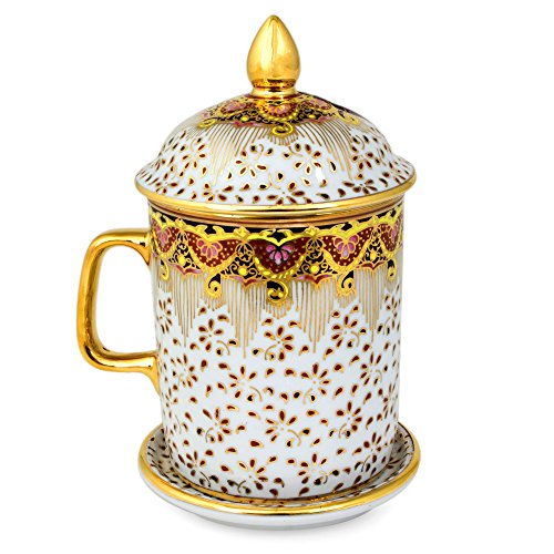 NOVICA Thai Celebration' Benjarong Porcelain Mug by NOVICA