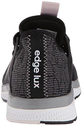 Adidas Vrouwen Edge Lux W Hardloopschoen Zwart / Damp Metallic / Orchidee Tint