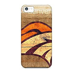 MansourMurray Iphone 5c Best Hard Phone Cover Provide Private Custom Lifelike Denver Broncos Series [hVX10303gZer]