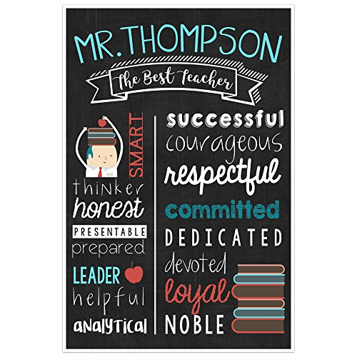 Teacher Chalkboard Wall Art – Teacher Appreciation Persona
