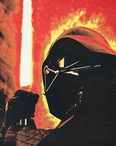 Star Wars Darth Vader Lightsaber Mens T-Shirt