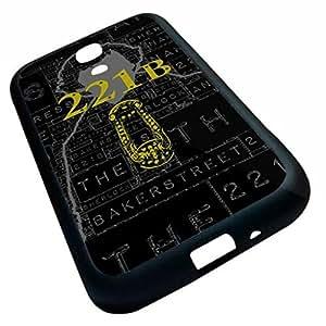 Generic Sherlock Cell Phone Case (Samsung Galaxy S4 i9500 (Black) hjbrhga1544