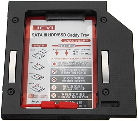 Tutoy Jeyi 9.5 Mm 12.7 Mm 2,5 Sata Ssd HDD Optical Unidad De ...