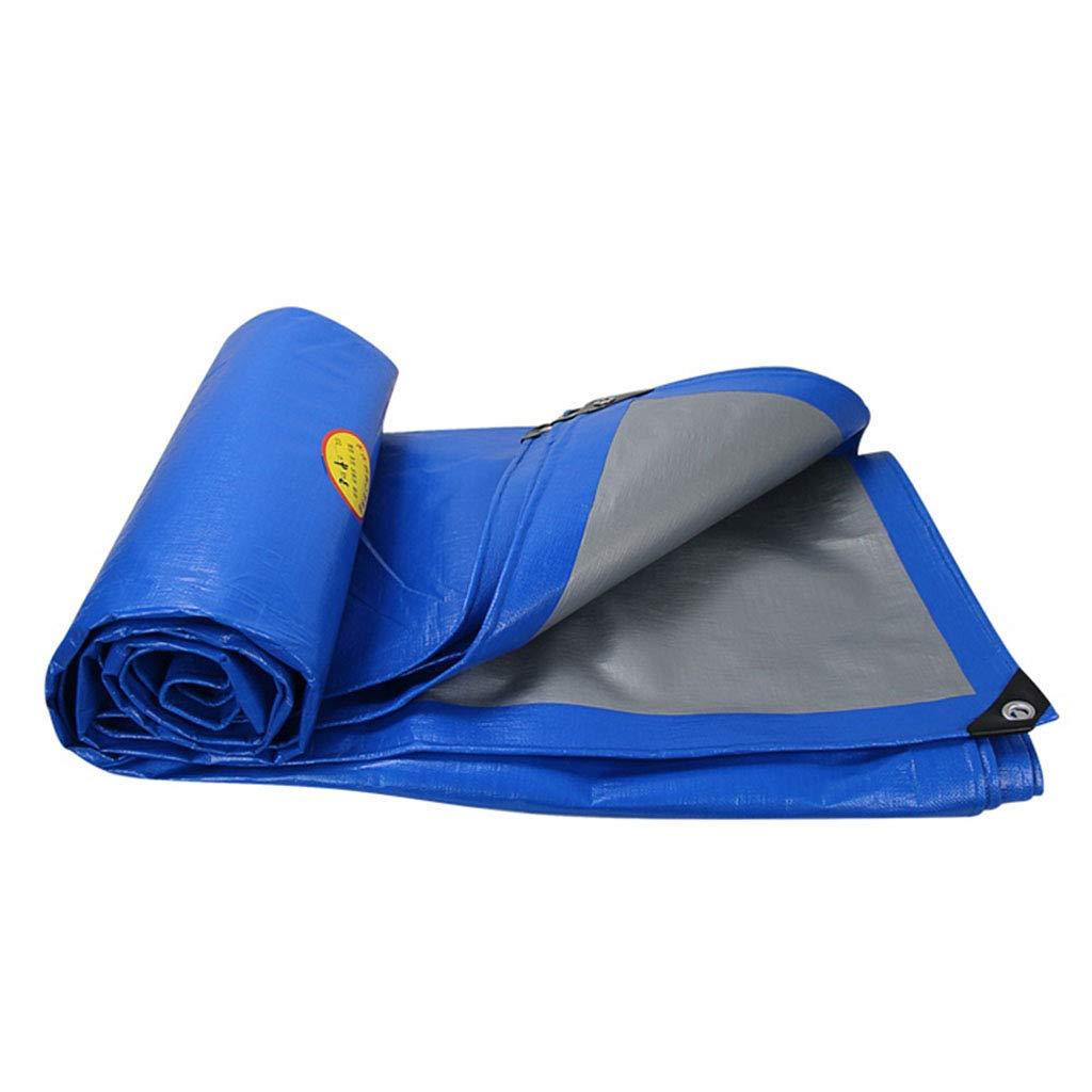 YX-Planen Umkehrbare Bodenplane für Doppelplanen - vielseitig einsetzbar - super wasserdichtes Planenblatt für Haus und Garten für hohe Beanspruchung - Stärke 0,3 mm, 200 g m²