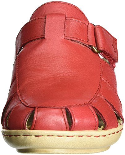 5 Red Sandals 5 Caprice Nappa Heels Red WoMen Wedge 27300 qSS6wBUC