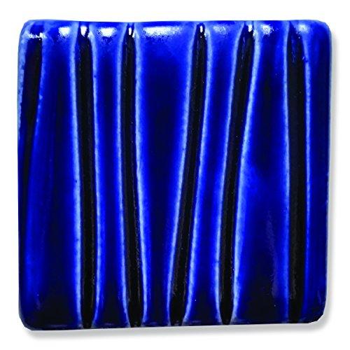 Speedball 004012 Earthenware Glaze, Royal Blue, 16 oz