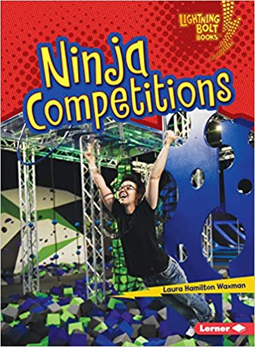 Ninja Competitions Lightning Bolt Books: Ninja Mania: Amazon ...