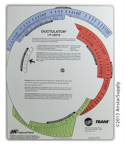 Ductulator with Sleeve Air Duct Calculator