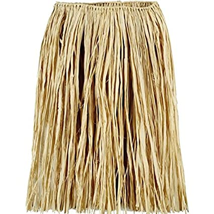 453053d2544 Image Unavailable. Image not available for. Color  Adult Natural Grass Hula  Skirt