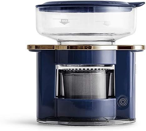 GPWDSN Automática Verter sobre Cafetera, Copa Individual Brewer con Filtro Reutilizable De Acero Inoxidable, De Tamaño Compacto, Portátil para Uso Interior Y Exterior Azul: Amazon.es: Deportes y aire libre