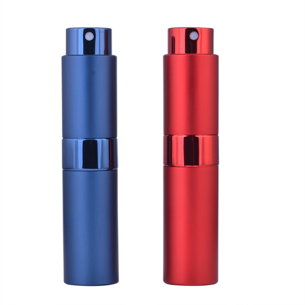 Twist Up Perfume Atomizer 8ml Empty Spray Parfum Kopi Parfume Mobil Bottle For Traveling With Your Favorite