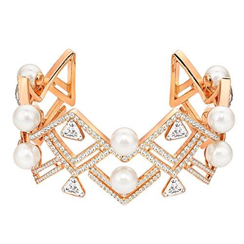 Swarovski 5207246 Edify Cuff Bracelet, Medium