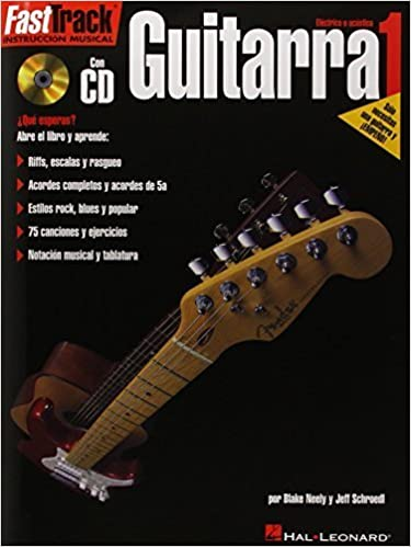 FastTrack Guitar Method - Spanish Edition - Level 1: FastTrack ...