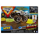 Monster Jam Max D Monster Dirt Deluxe Set, Featuring 16 Ounces of Monster Dirt & Monster Jam Truck