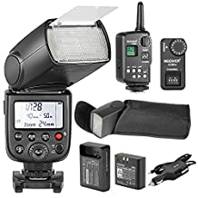 Neewer TT850 *LI-ION BATTERY* Flash Speedlite With FT-16S Wireless Flash Trigger And LI-ION BATTERY Car Charger For Canon, Nikon, Pentax, Olympus and all other SLR DSLR CAMERAS Professional Photography