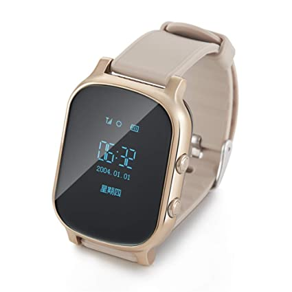ZLOPV Pulsera Smartwatch GPS Life Tracker Buscador de ...