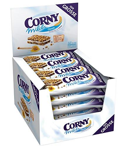 24 Riegel Corny Milch Classic - Der Große, 1er Pack (1 x 960 g)