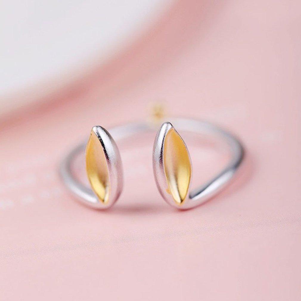 Amazon.com: Adjustable Rabbit Ears Bunny Ring 925 Sterling Silver ...