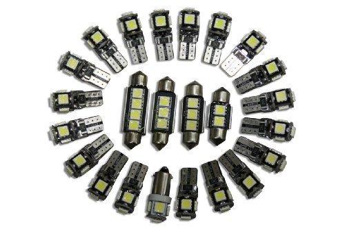 LED-Mafia 1334AC 147 7 Canbus LED D'Éclairage Intérieur Vendu -2X Éclairage Avant -1X Éclairage De La Boîte À Gants -1X Éclairage Intérieur Derrière La Porte Réflecteurs -2X &E